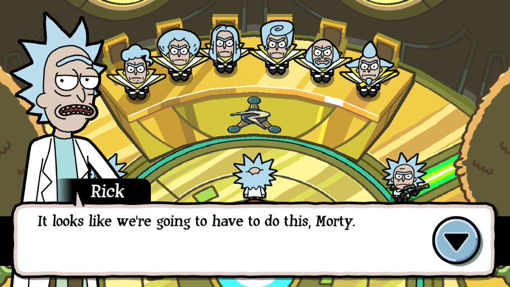 Pocket Mortys (iOs)