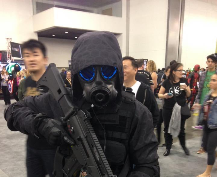 Resident Evil Cosplayers SVCC 2016 Cosplay COVID-19