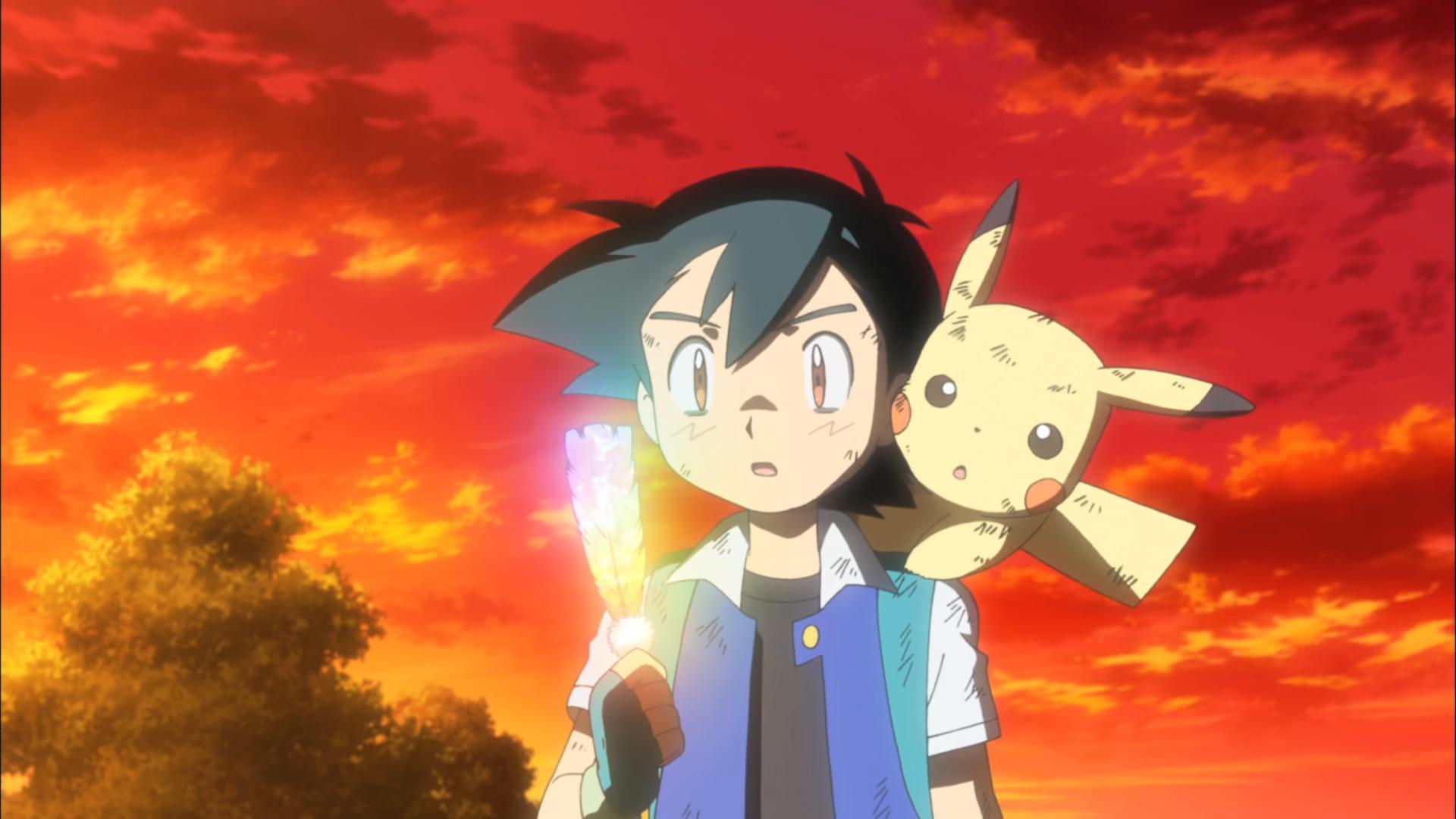 Pokémon the Movie: I Choose You! - Ash and Pikachu