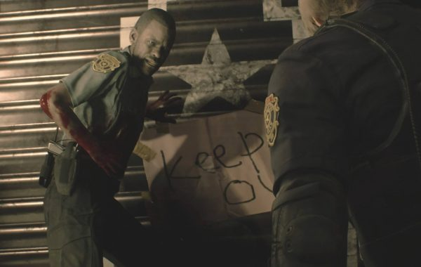 Resident Evil 2 remake demo 8Bit/Digi