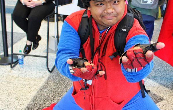 Spider Man cosplay FanimeCon 2019 8Bit/Digi