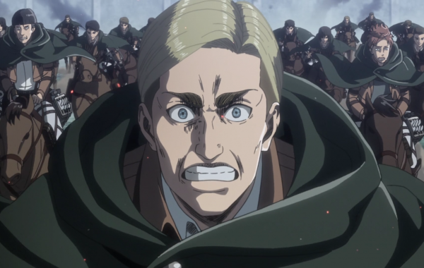 Attack on Titan Season 3 Pt. 2 Erwin charge 8Bit/Digi