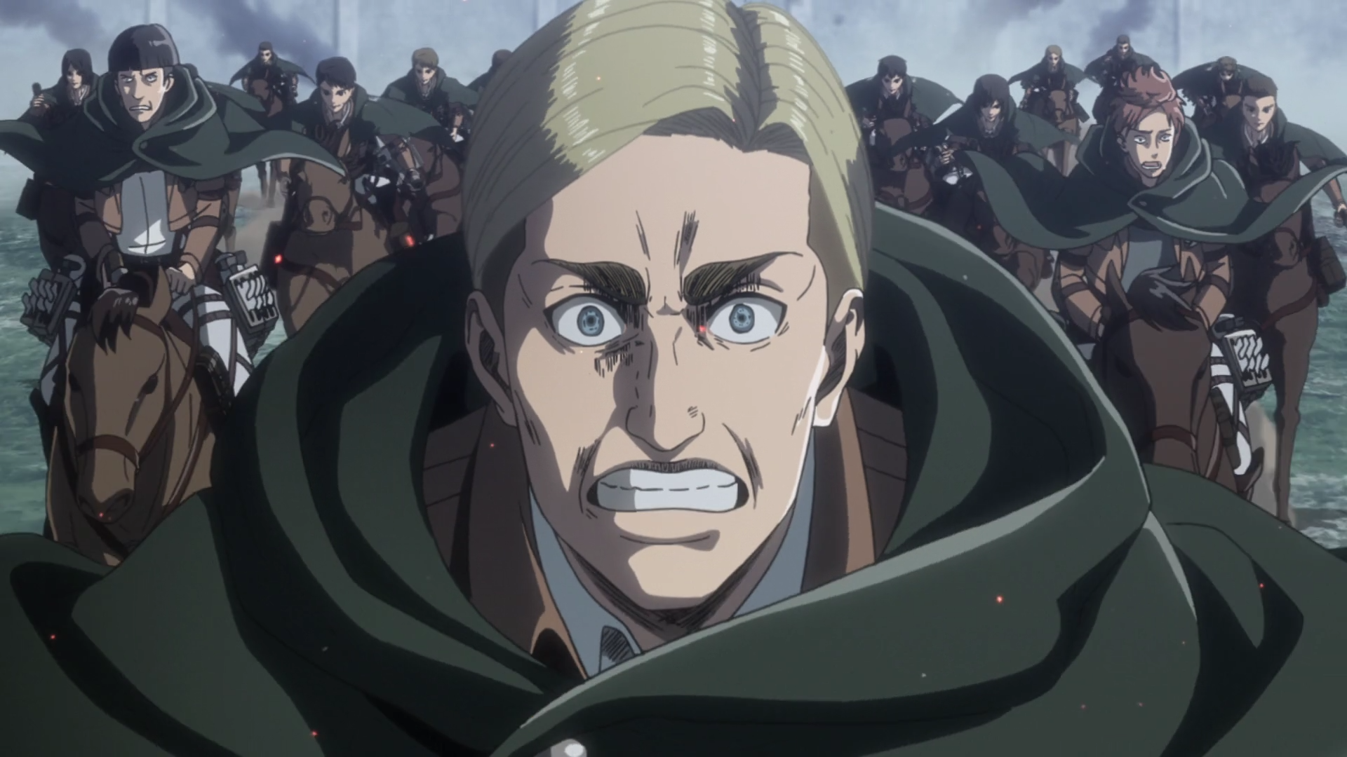 Attack on Titan Season 3 Pt. 2 Erwin charge 8Bit/Digi