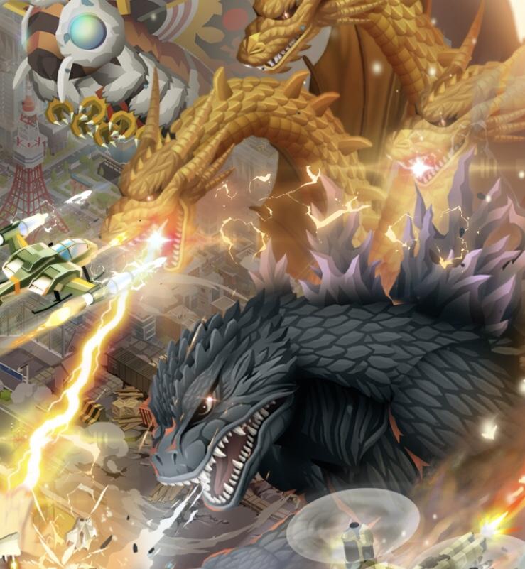 Godzilla Defense Force (iOs)