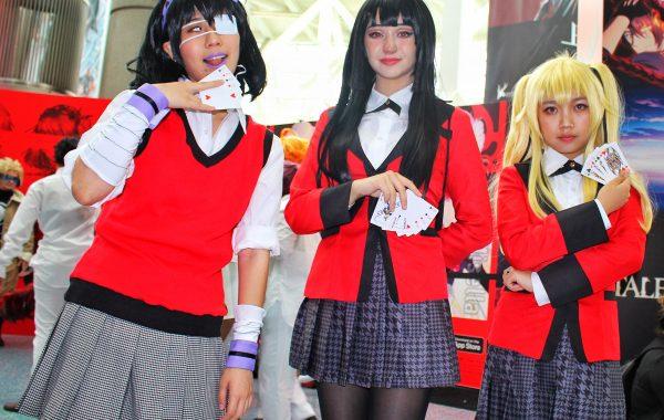 Kakegurui cosplay at Anime Expo 2019 8Bit/Digi