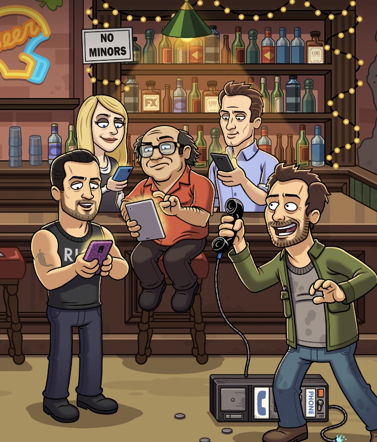 It's Always Sunny in Philadelphia: The Gang Goes Mobile (iOs)
