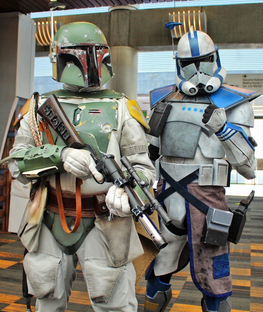 Star Wars cosplay Silicon Valley Con 2019 8Bit/Digi