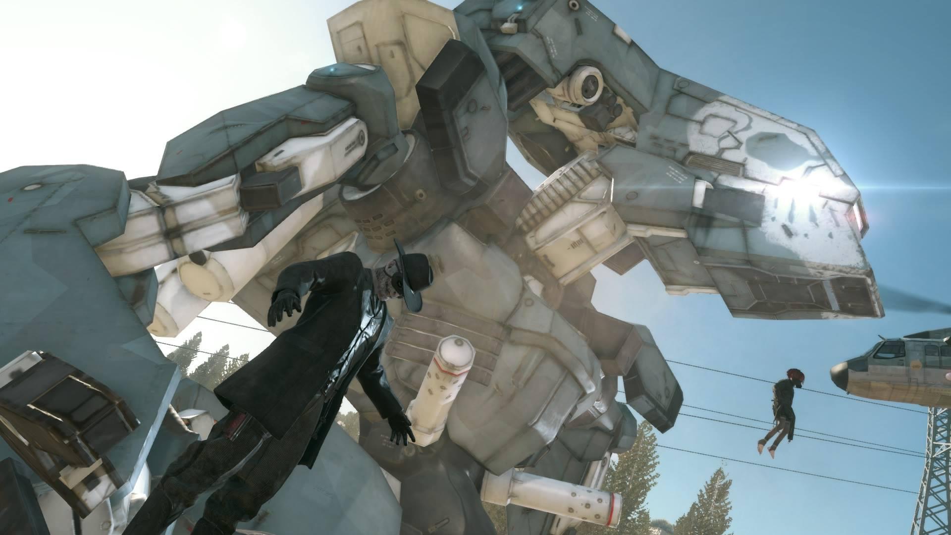 Metal Gear Solid V Metal Gear and Skull Face