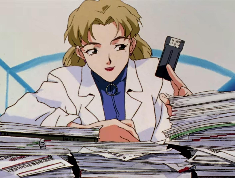 Ritsuko Akagi Neon Genesis Evangelion 8Bit/Digi
