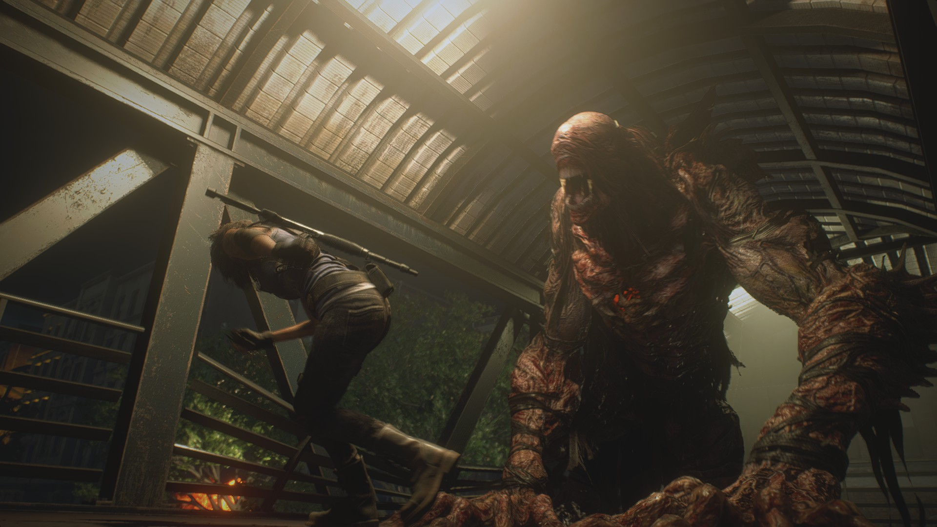 Jill Valentine Nemesis Resident Evil 3 8Bit/Digi