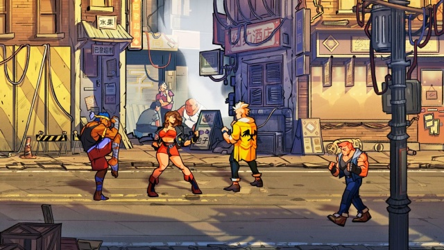 Streets of Rage 4 8Bit/Digi