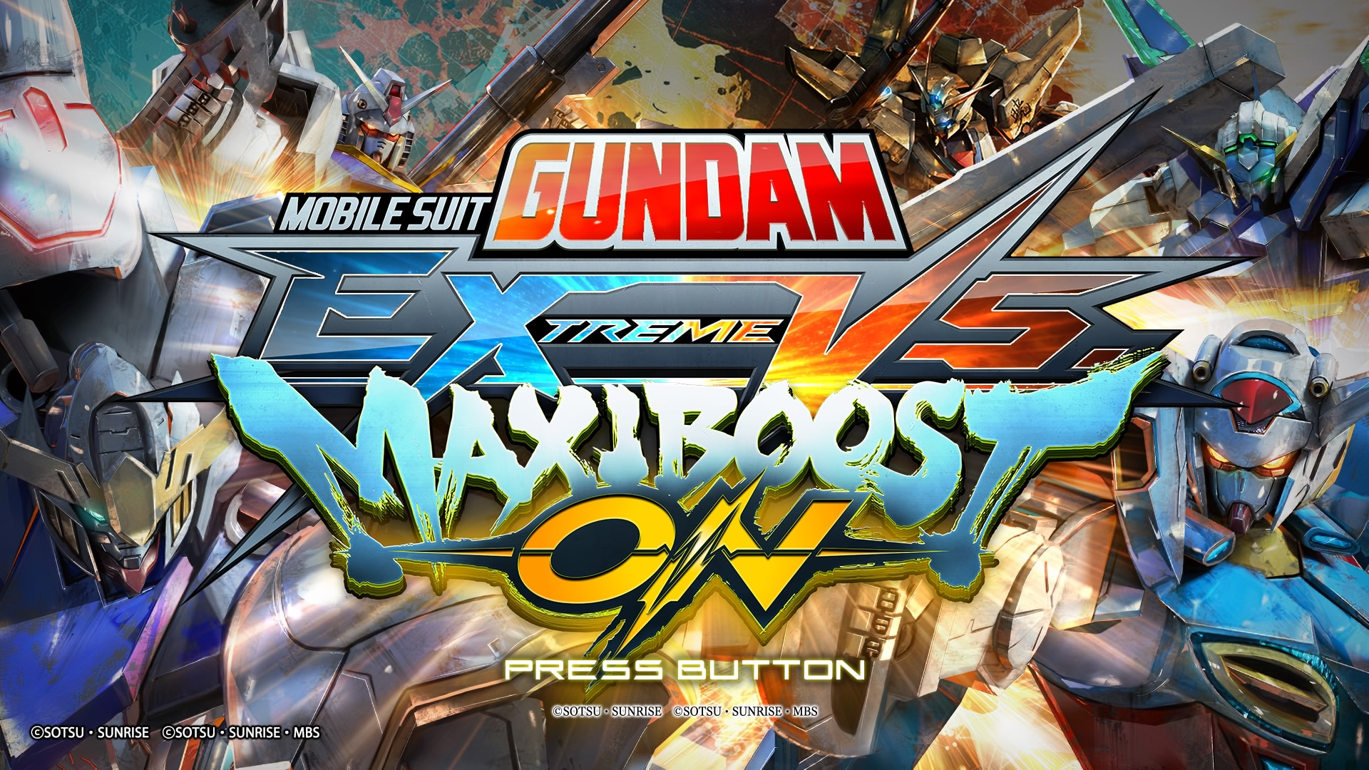 Mobile Suit Gundam: Extreme Vs. Maxi Boost ON (PS4)