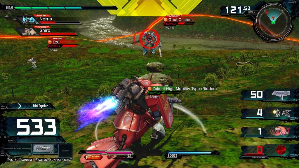 Mobile Suit Gundam: Extreme Vs. Maxi Boost ON 8Bit/Digi