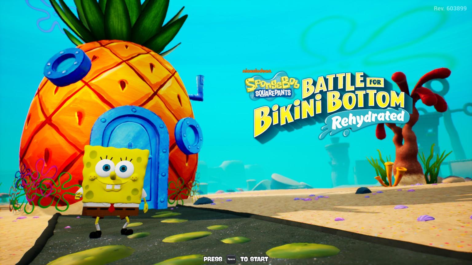 SpongeBob SquarePants: Battle For Bikini Bottom Rehydrated 8Bit/Digi
