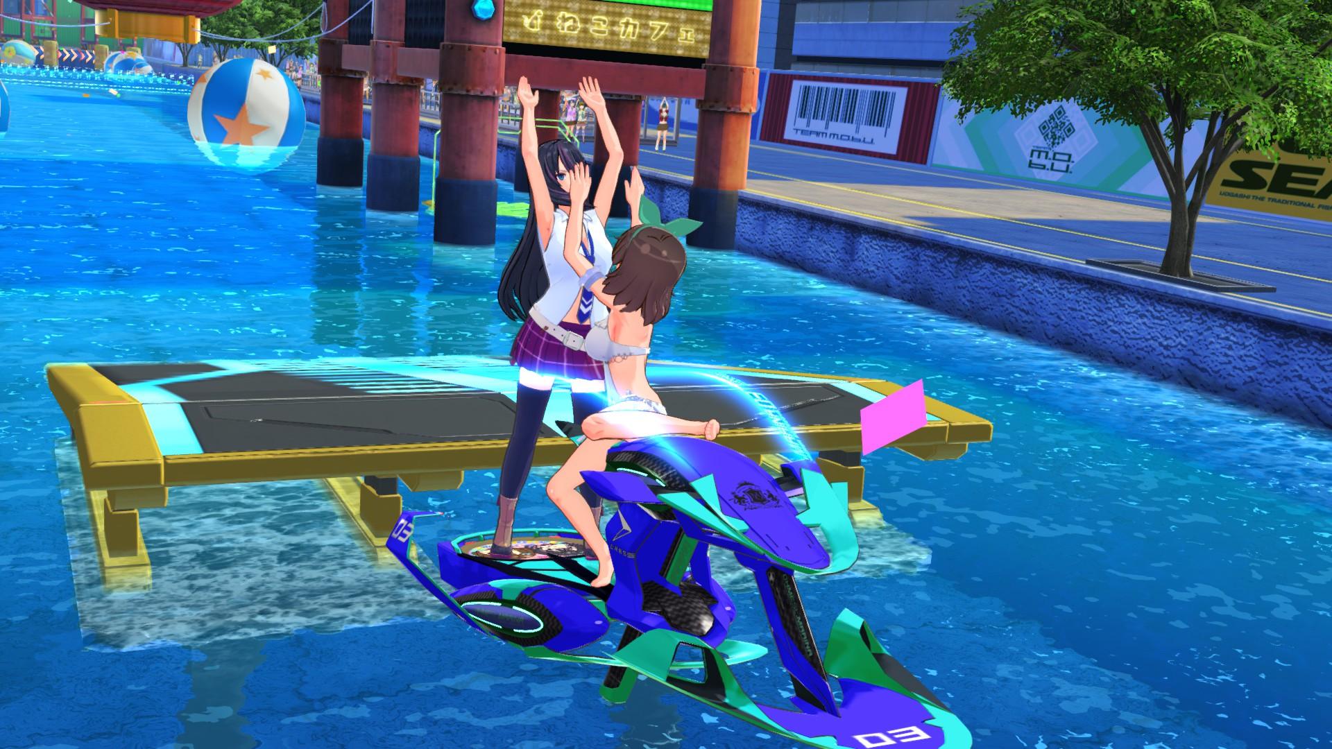 Kandagawa Jet Girls review for the PC. 8Bit/Digi