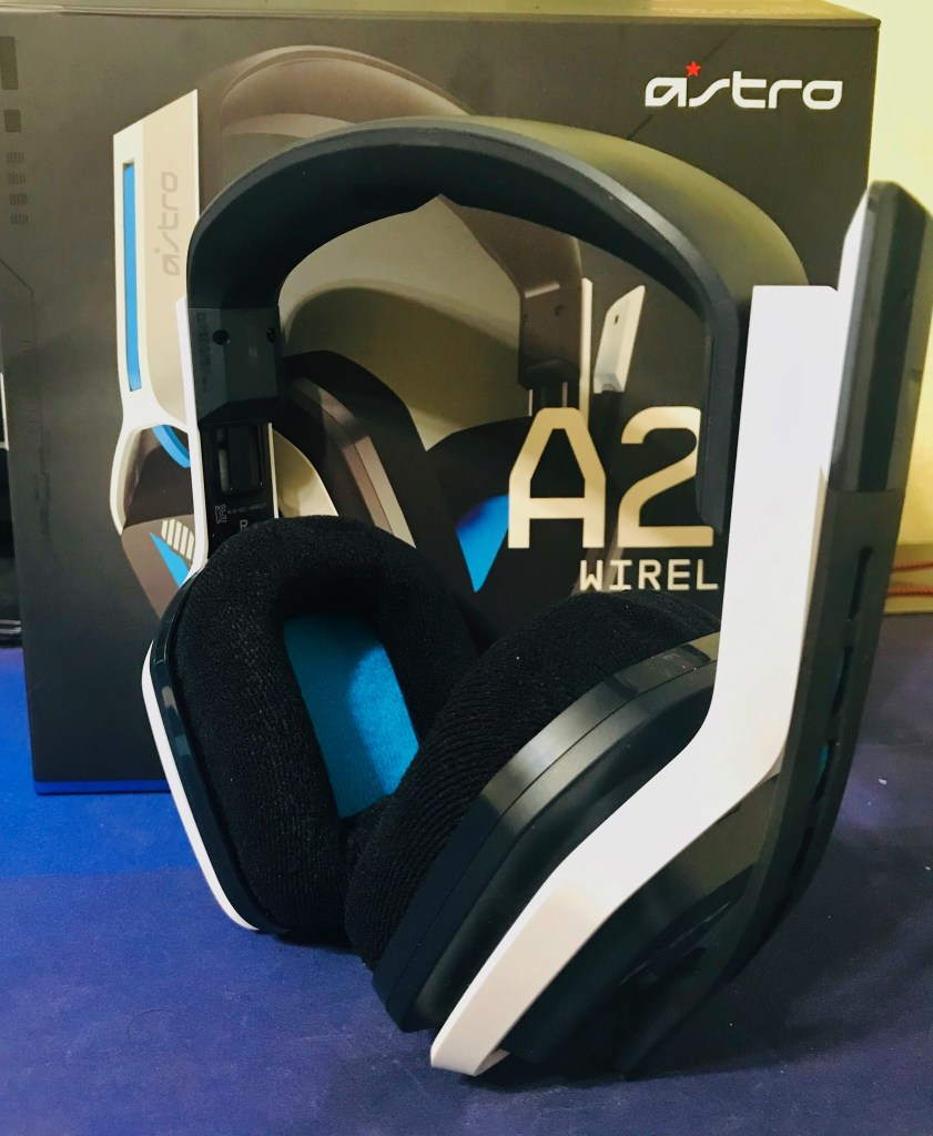 ASTRO Gaming A20 Headset (Gen 2) for the PC and PlayStation 4. 8Bit/Digi