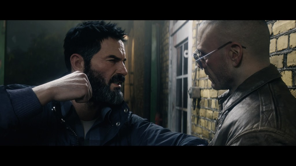 Woods confronts Hudson in Call of Duty: Black Ops Cold War. 8Bit/Digi