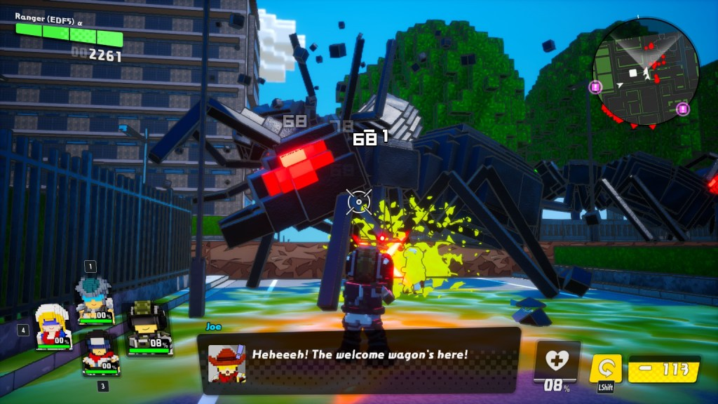 By abandoning overhauling the experience, Earth Defense Force: World Brothers is a fun entry in its own right.   Stan Rezaee of 8Bit/Digi